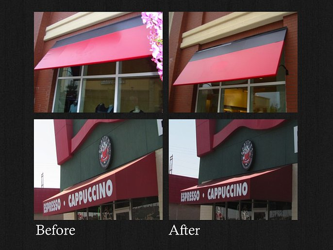 ... Awning Cleaning And Maintenance ...