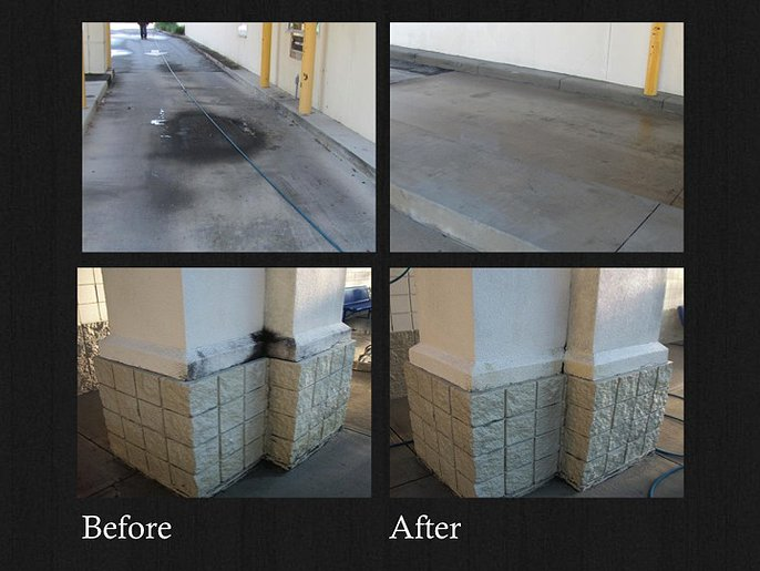Power Washing and Water Reclamation